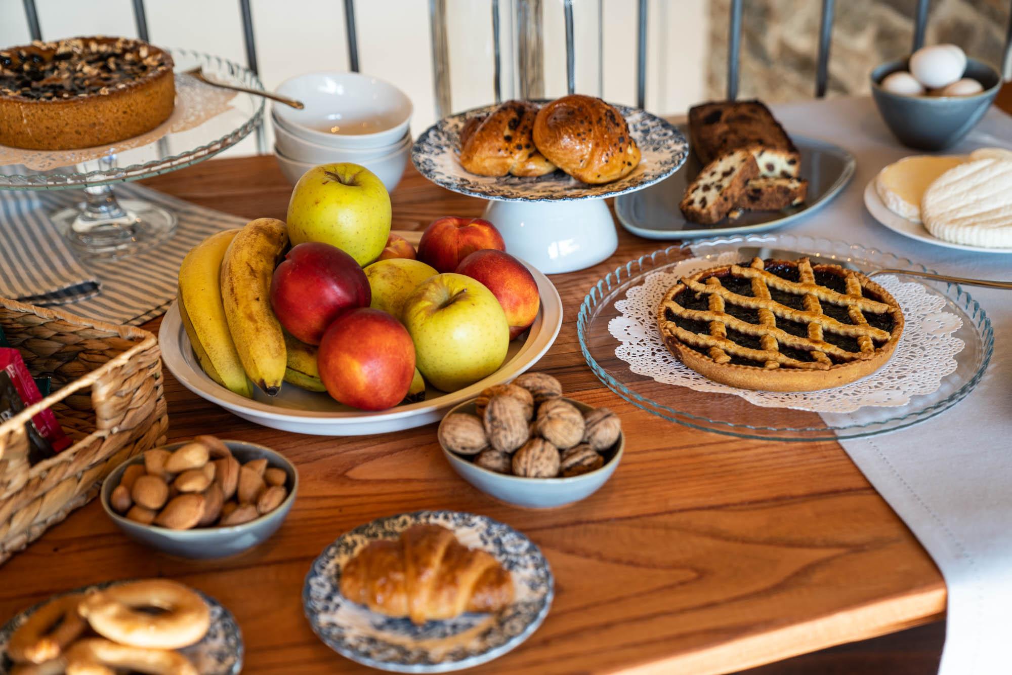 Prodotti tipici del Territorio a Colazione - Bed&Breakfast a Melle (CN)