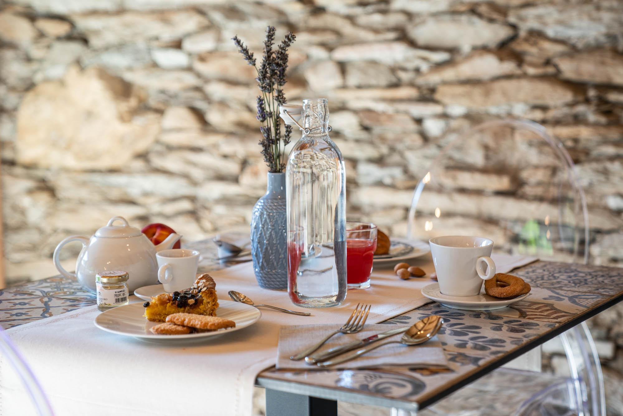 Tavolo per la Colazione - Bed&Breakfast Candentia